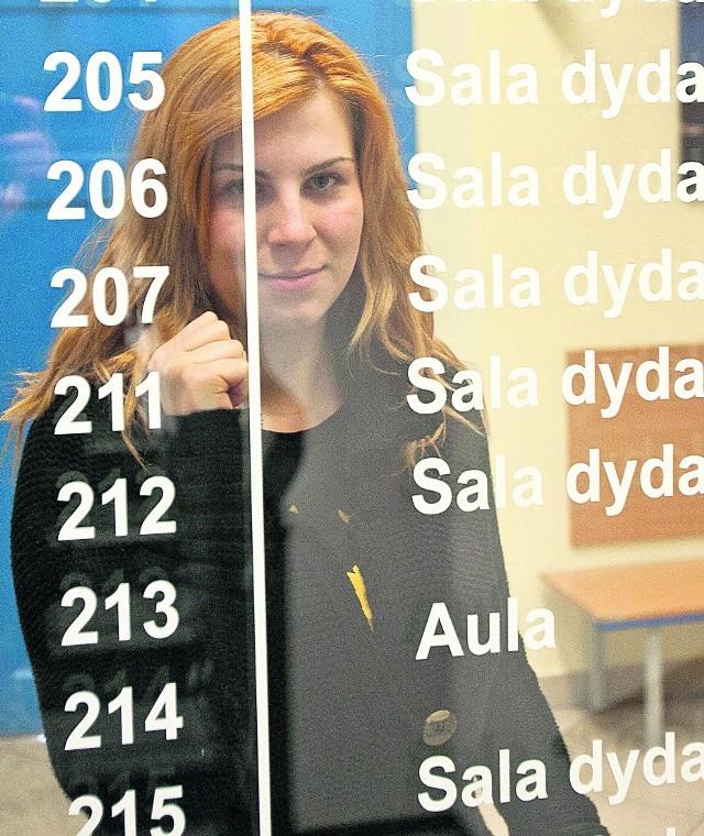 Maja Kierzkowska, dostaje co miesiąc 550 zł stypendium