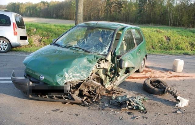 Wypadek w Kalmuzach