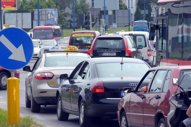 Korki na al. Solidarności to codzienność lubelskich kierowców