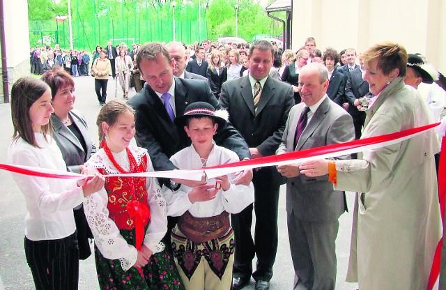 Sala gimnastyczna w Łopusznej będzie jednym z najnowocześniejszych obiektów w gminie