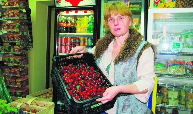 Czereśnie i wiśnie mogą być bardzo drogie