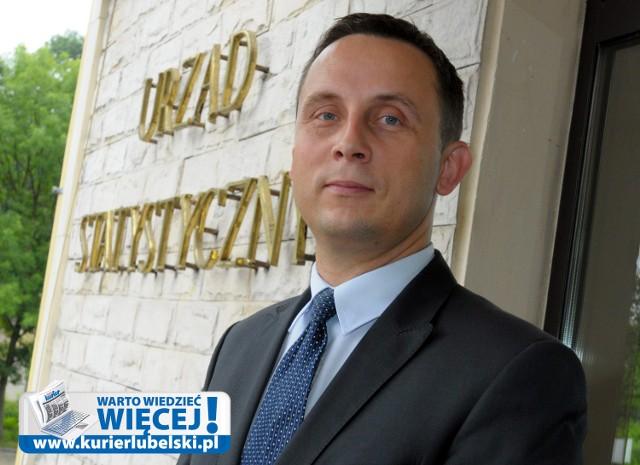 Andrzej Matacz, zastępca dyrektora Urzędu Statystycznego w Lublinie