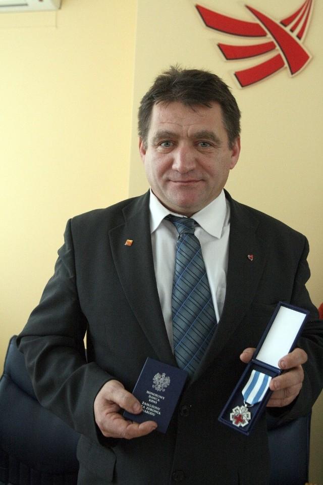 Medale dla krwiodawców z MPK