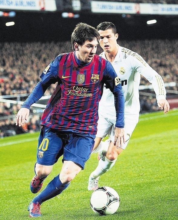 Panie też lubią popatrzeć na popisy Christiano Ronaldo i Leo Messiego.
