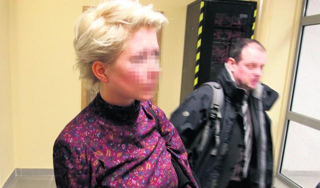 W sądzie aktorka nie rozmawiała z Januszem S., który przyznał się do rzucenia jej w twarz kuflem
