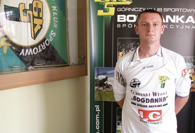 Sebastian Szałachowski, piłkarz GKS Bogdanka