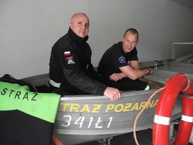Piotr Wincenty i Tomasz Trusewicz uratowali w powodzi życie dwóch osób