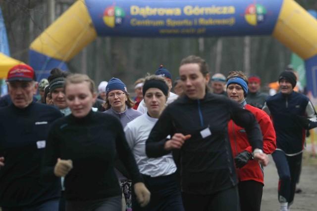 Pogoda dopisuje i  na trasach pojawia  się coraz więcej biegaczy
