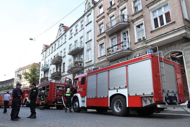 Pożar w Luboniu gasiły cztery zastępy