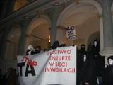 Poznań: Protest przeciwko ACTA [ZDJĘCIA, FILM]
