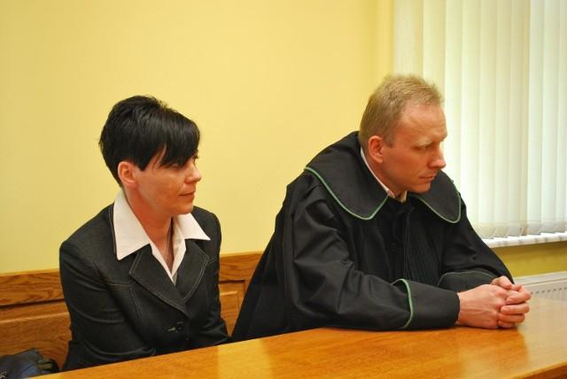 Anna Adamczak nie ukrywała zadowolenia z wyroku sądu