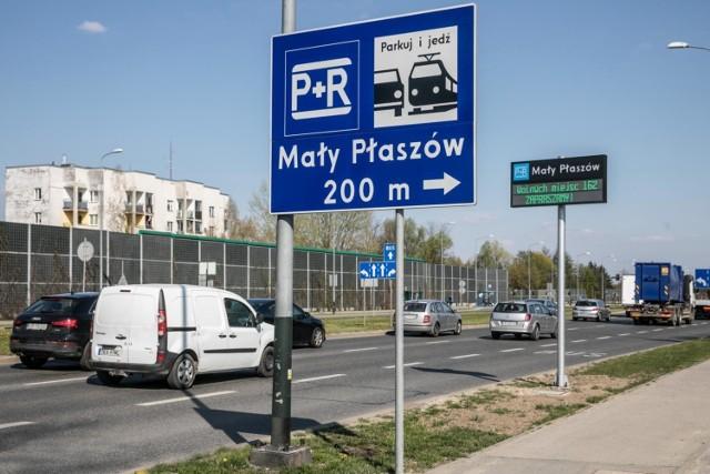Od otwarcia park&ride w Małym Płaszowie cieszy się małą popularnością wśród kierowców
