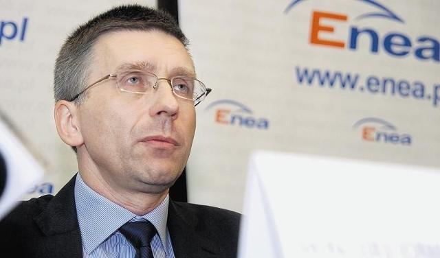 Maciej Owczarek jest obecnie prezesem zarządu Enei