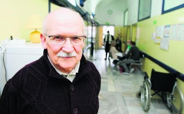 Prof. Kazimierz Kuliczkowski: - Dbania o czystość nie odpuszczę. Nie chcę, by pacjenci dostawali infekcji lub zapadali na sepsę