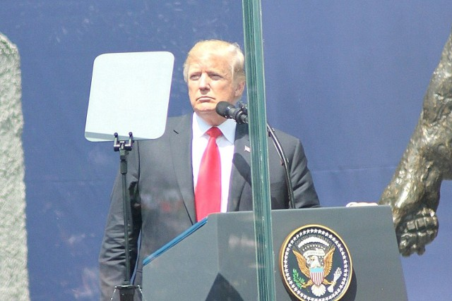 Wizyta Donalda Trumpa 6 lipca 2017 r. w Warszawie