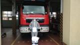 Koronawirus Pruszcz Gdański. Strażacy otrzymali środki ochrony i płyny dezynfekujące  |ZDJĘCIA
