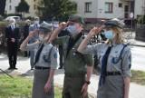Obchody 81. rocznicy zbrodni katyńskiej w Wieluniu ZDJĘCIA