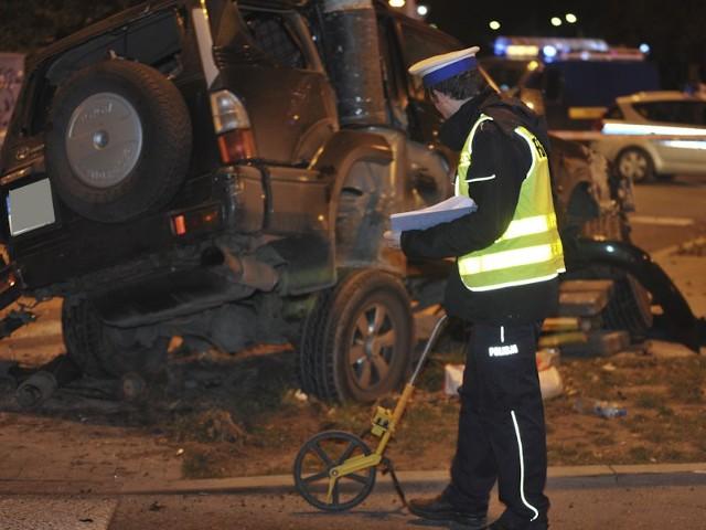 Tragiczny wypadek na Dąbrowskiego