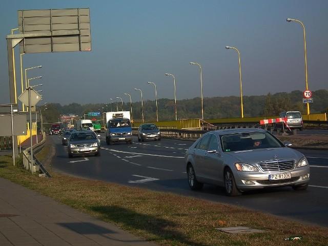 Od czwartku samochody będą jeździły tylko po jednej nitce mostu Lecha