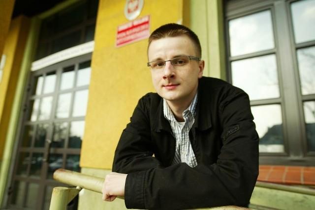 Jakub Piech przyjechał na studia do Wrocławia z Krakowa