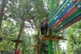 Na leśnych szlakach. Wycieczka dzieci z gm. Trąbki Wielkie do Adventure Park Gdynia Kolibki