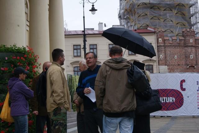 ONR Lublin pikietował pod ratuszem