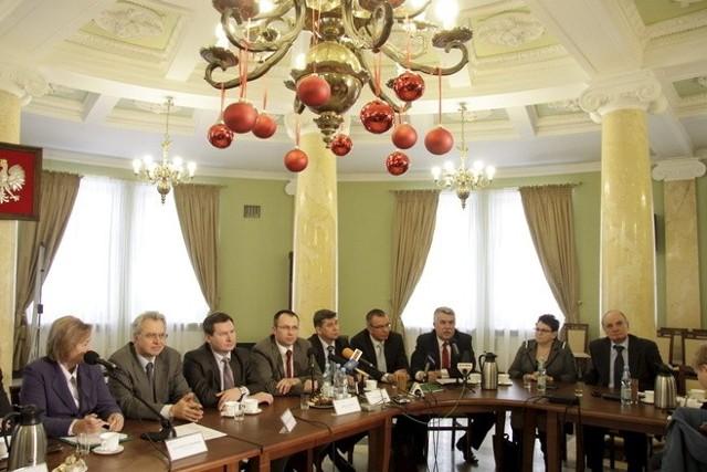 Jedno z posiedzeń zespołu parlamentarnego
