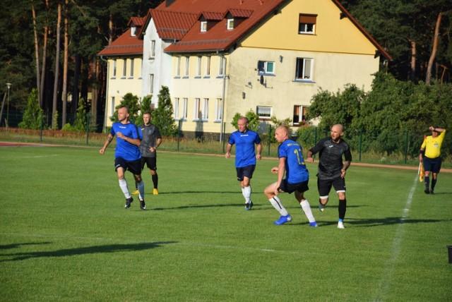 I runda Pucharu Polski na szczeblu LZPN. Mecz Delta Smardzewo vs Medyk Cibórz na stadionie w Ciborzu - 14 sierpnia 2019.