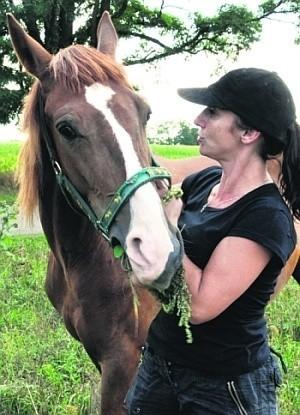 Liza została uratowana z rzeźni i dzisiaj jest przyjacielem rodziny Krystyny Urbanek