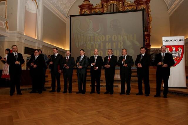 Dziewięciu rolników z Wielkopolski zostało uhonorowanych tytułem Wielkopolskiego Rolnika Roku