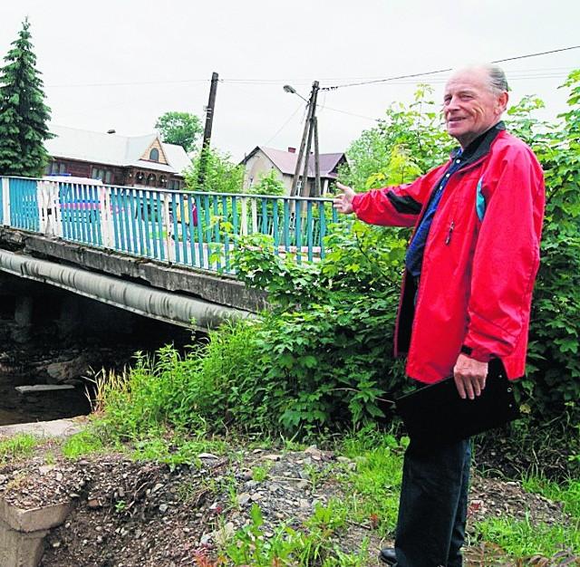 Antoni Rapacz uważa, że drugi most do osiedla Sądeckiego mógł powstać już dawno temu