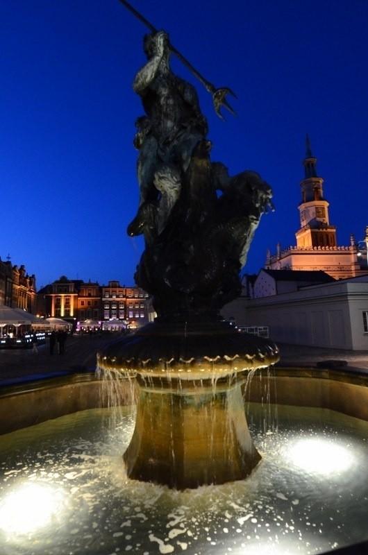 W Poznaniu działa już część fontann.