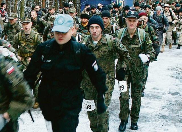 Uczestnicy Maratonu Komandosa