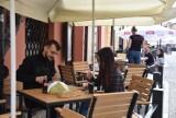 Tarnów. Gdzie można zjeść na miejscu w centrum miasta? Lokale powoli wracają do życia. Ogródki kawiarniane w końcu otwarte. [ZDJĘCIA]