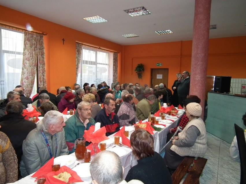 Wigilia W Kuchni Dla Ubogich Caritas Przybyło Około100 Osób