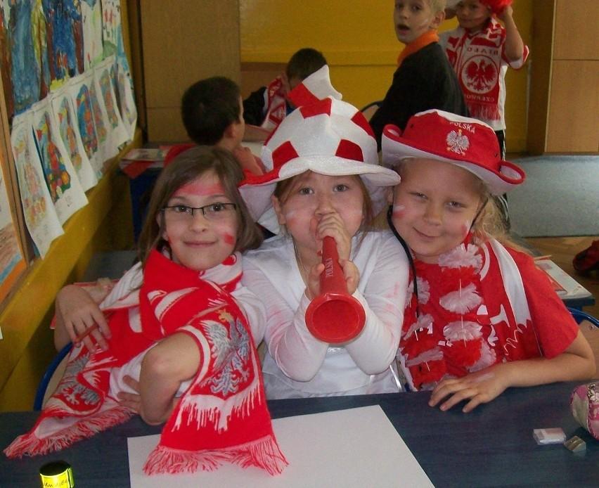 Dzień kibica w Szkole Podstawowej nr 31 w Lublinie
