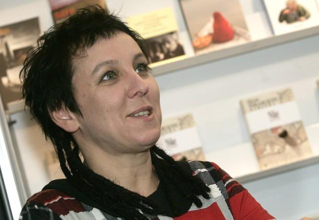 Olga Tokarczuk podczas spotkania z czytelnikami