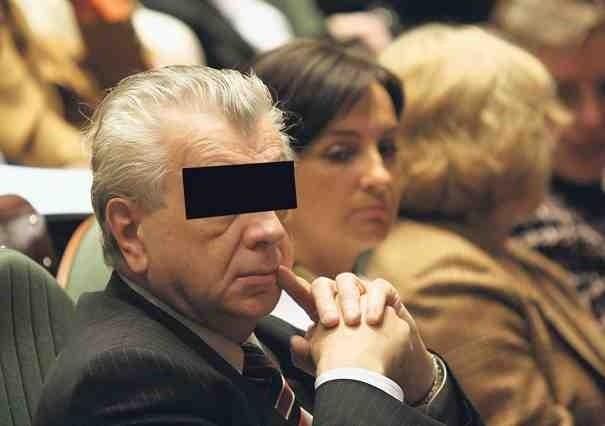 Prof. Tadeusz W. - rektor uczelni w latach 1999-2005