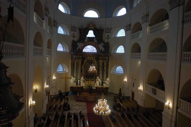 Kościół Jezusowy w Cieszynie to największa świątynia protestancka  w kraju. Może pomieścić nawet 5  tysięcy wiernych