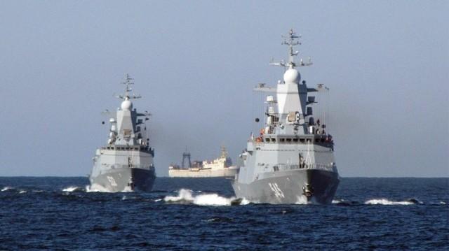 Rosyjskie okręty Floty Bałtyckiej wyszły w morze w ramach ćwiczeń Zapad 21