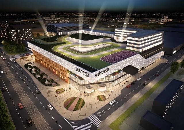Centrum handlowe Sukcesja ma zostać otwarte w lutym 2014 roku.