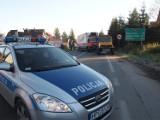Zakopane: ciężarówka wpadła do rowu [ZDJĘCIA]