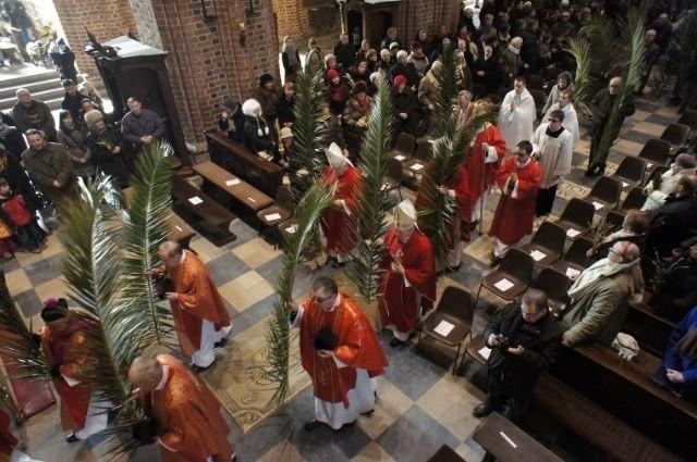 Palmy święcone w Katedrze Poznańskiej