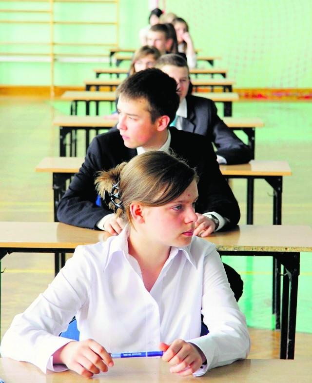 Wynik egzaminu brany jest pod uwagę przy naborze do liceów