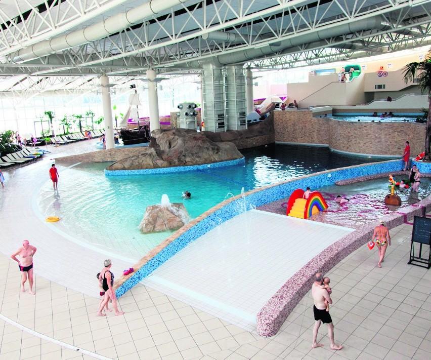 Termy to nie tylko piękne baseny, ale też i podziemia, na których można zarabiać