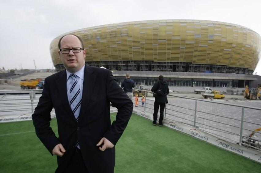 Gdańsk: Mecz na otwarcie PGE Areny jest pewny (wideo)