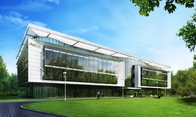 Tak ma wyglądać nowa siedziba firmy Ericpol Telecom w Łodzi