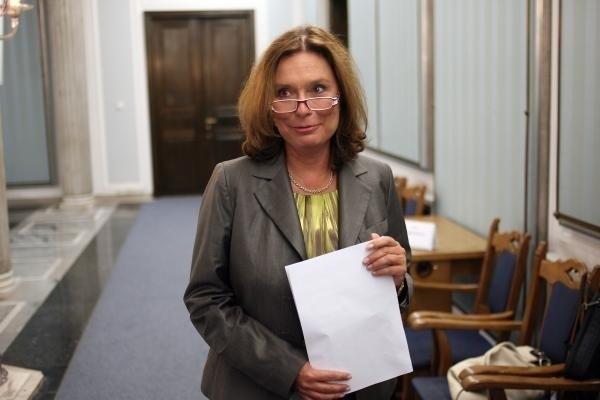 Małgorzata Kidawa Błońska.