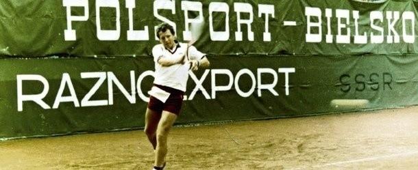 W Katowicach grało wielu znakomitych tenisistów, a Niemiec Thomas Emmrich wygrywał przy Astrów aż cztery razy