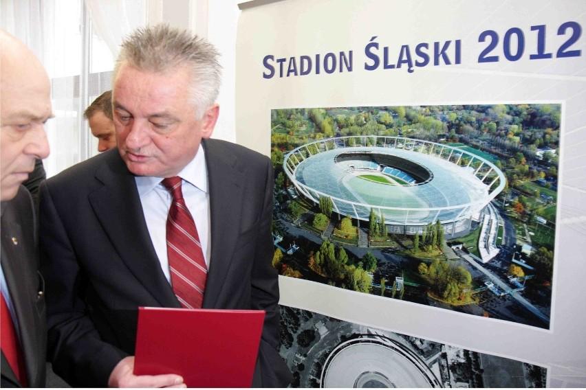 Stadion Śląski oczywiście też pokazaliśmy w Sejmie